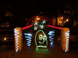 Light Graffiti - Worm by LightScribblers