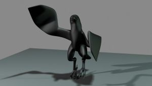 DAncing magpie by tremault5