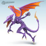 Ridley Smashified by Zesiul