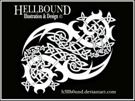 Tribal Celtic Knotwork by H3LLB0uND