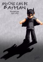 Batman Day Anyone can be Batman by Rene-L