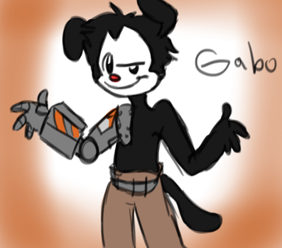 Gabo Commish by Spider-Toast