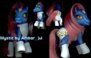 my little pony custom Mystic by AmbarJulieta