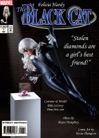 Riddle as Black Cat by KustomKomiks