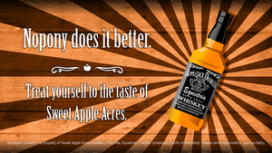 Applejack Daniel's Wallpaper by smokeybacon