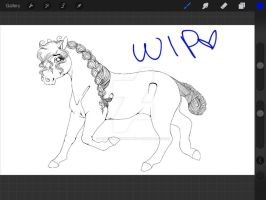 .: Lena new ref WIP :. by Wistfully-Dreaming