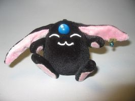 black mokona plush keychain by Rens-twin