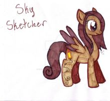 Sky Sketcher by MistrissTheHedgehog