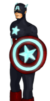 Captain American PBPD by LissyBear