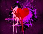Splatter Heart by Desperado328