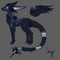 Eksek Guardian Jay by TheseWeirdFishes