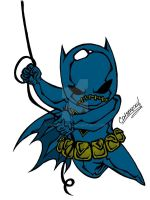 CHIBI BATGIRL II COLORED by CHIBIWORLD