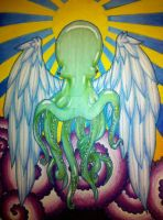 Holy Octopus by XOMBIE-OCTOPUS-QUEEN