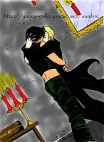 Harry and Draco Kissing by Kibou-h