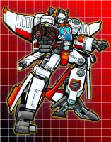 Jetfire 40K - Color by LancerAdvanced