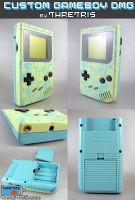 Custom Gameboy AquaBoy by Thretris