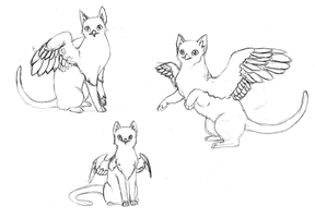 Gryphione Sketches by Cao