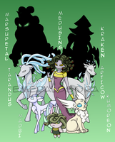 Fakemon Generation 2 Preview 2 by EmeraldSora