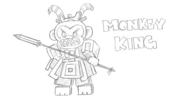 Trove Fan Art - Monkey King by Canadianese