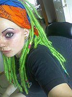 Green Synth Dreads by Archer-1