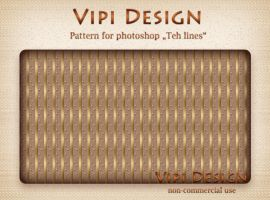 Teh lines Patterns for photoshop by elixa-geg