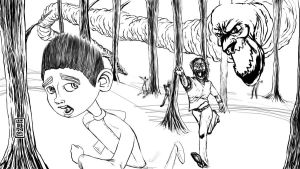 08 16 2012 Daily Draw ParaNorman Update 5 by LineDetail