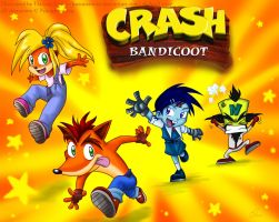 Crash Bandicoot tribute by HazuraSinner