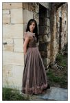 Meredith - brown dress 1 by wildplaces