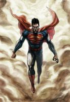 THE GODDAMN SUPERMAN by mikemaluk