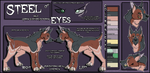 .:Character Reference:. Steel by phenoxfire