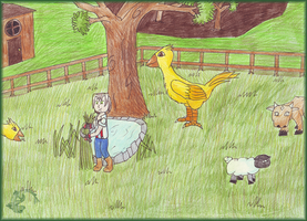 HM - Chocobo farm 8D by totodos