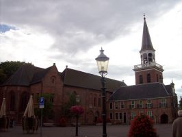 Appingedam church and town hall by Bonnzai