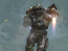 Halo Reach OC: Vare by purpledragon104