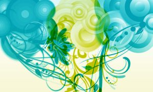 Flourish Circle Brushes by StarwaltDesign