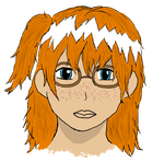 Girl with Glasses by SMAB007