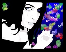 Alice with black hair by Alice-fanclub