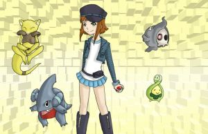 pokemon trainer Ema by LucTrey