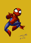 Spidey ! by lukeMGH
