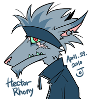 Hector Rhony by Schwitz