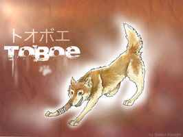 .Toboe.Wolf. by Spilled-Sunlight