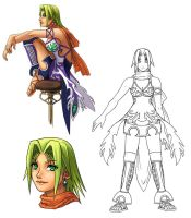 Original: Character Design 1 by Risachantag