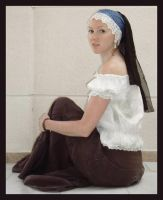 Girl with the pearl earring 3 by Lisajen-stock