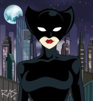 Catwoman: The Animated Series preview by rickytherockstar