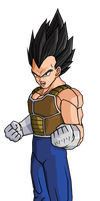 Vegeta AD Escape from hell Saga by RobertoVile