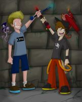 QuestingTime With Stuffinsquire + Hootinanny by BavarianZombieBoy