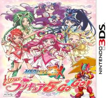 Yes! Precure 5 and Megaman ZX 3DS by isaacyeap