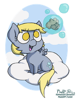 Belated Derpy Day by Raphaelsgirl