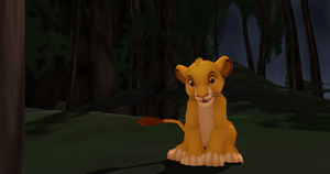MMD Newcomer Young Simba + DL by Valforwing
