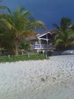 Beach house In honduras by xRedRainDropsx