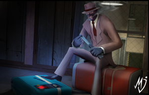Teamfortress 2 Spy by Mjans